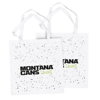 Montana Typo-Logo + Stars Cotton Bag
