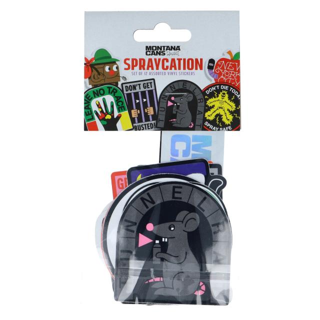 Montana Sticker Set #2 - Sprayvacation