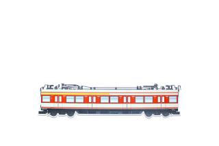 OTR Magnet Frankfurt S-Bahn Classic - Middle Car XXL