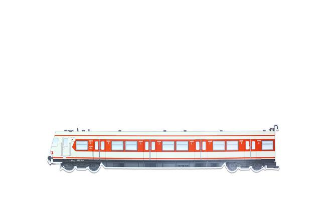 OTR Magnet Frankfurt S-Bahn Classic - Left Car XXL