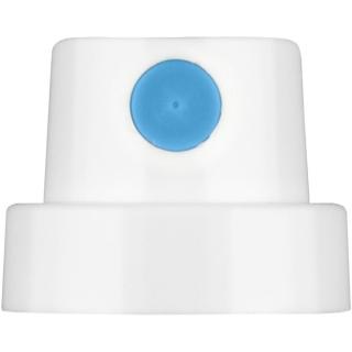Soft Cap weiß/blau