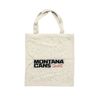 Montana Typo+Stars Cotton Bag (Natural)