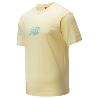 New Balance Athletic Friends MT01516WT T-Shirt (Sunglow)