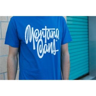 "Montana Cans T-SHIRT ""TAG BY SHAPIRO"" (blau)"