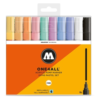 Molotow ONE4ALL 227HS Pastell Set