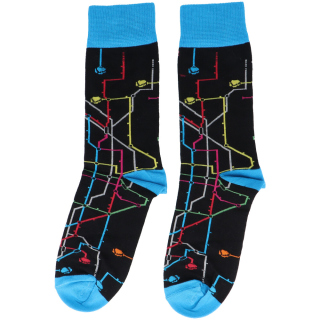 MTN Metro Socken (schwarz)