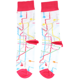 MTN Metro Socken (weiß)